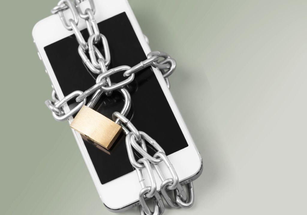 Phone theft lock.