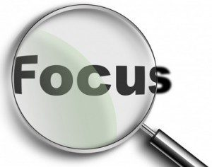 Get Focused and Stay Focused