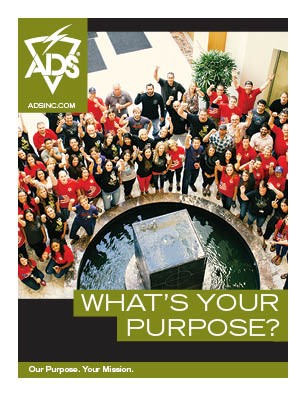What's Your Purpose? Team ADS - Corporate Culture