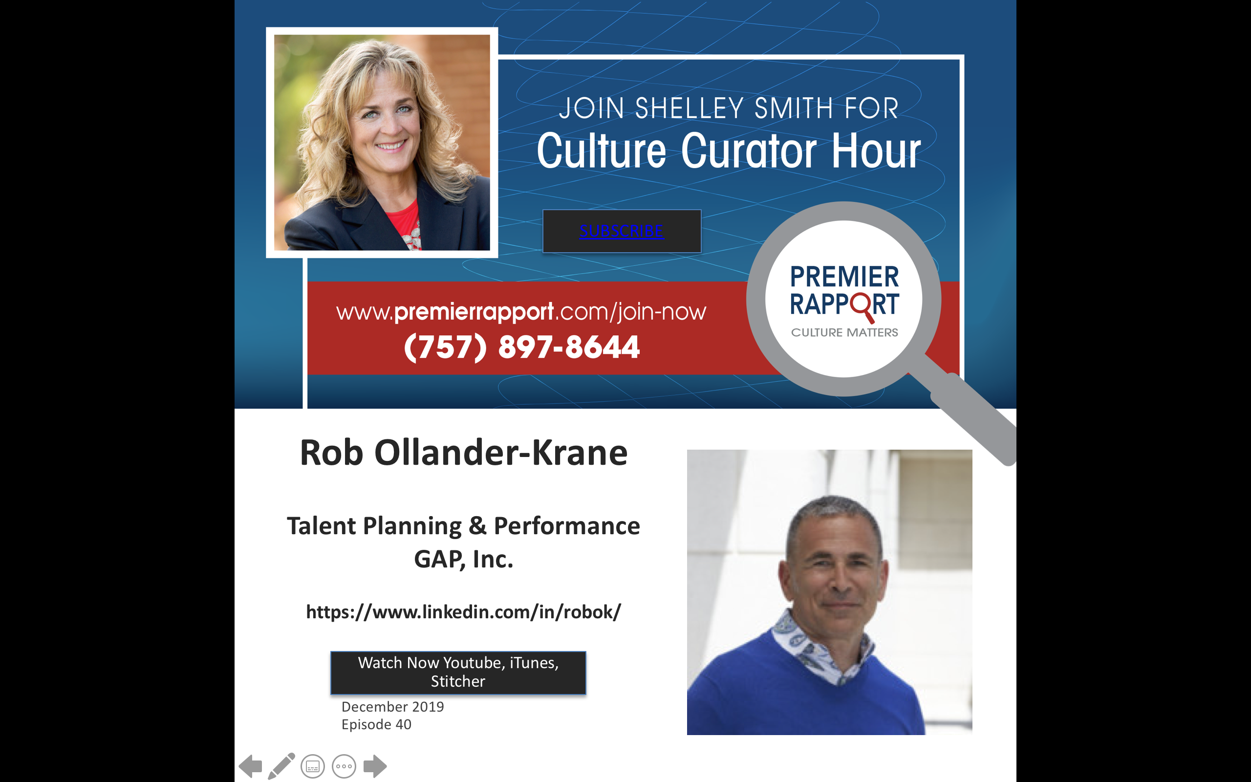 Culture Hour Episode 40 with