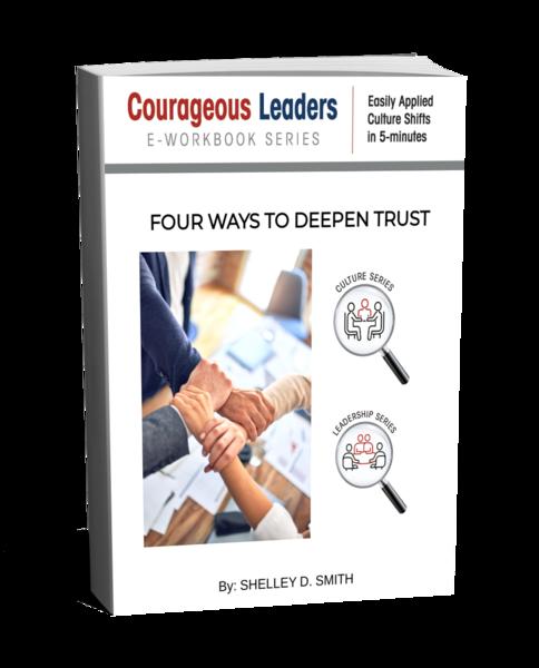 FOUR WAYS TO DEEPEN TRUST